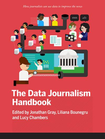 cover of the Data Journalism Handbook